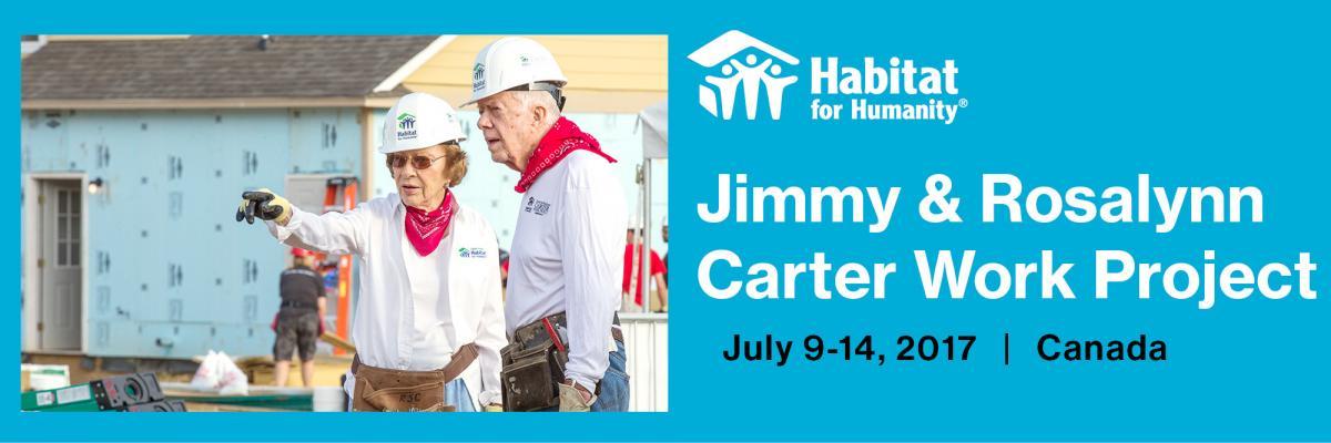 Carter Work Project Week – A great success!