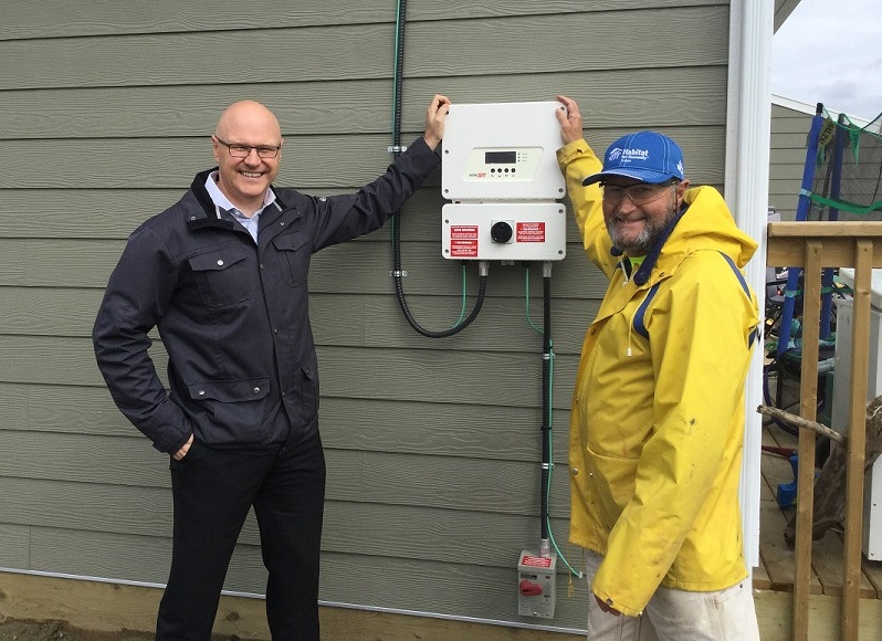 Yukon Energy honored for their donation
